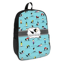 Yoga Poses Kids Backpack (Personalized)