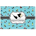 Yoga Poses Woven Mat (Personalized)