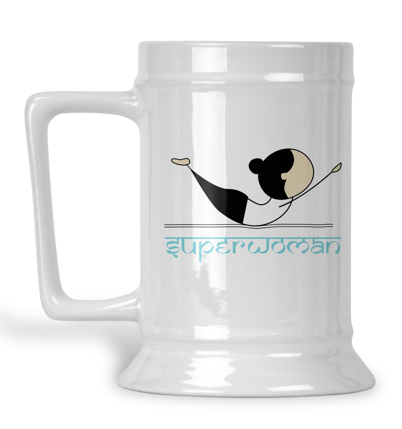 Yoga Poses Beer Stein Personalized