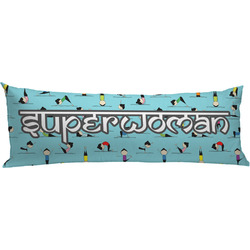 Yoga Poses Body Pillow Case (Personalized)
