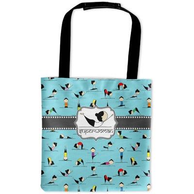 Yoga Poses Auto Back Seat Organizer Bag (Personalized)