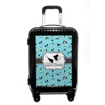 Yoga Poses Carry On Hard Shell Suitcase (Personalized)
