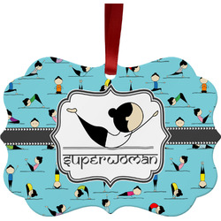 Yoga Poses Ornament (Personalized)