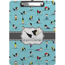 Yoga Poses Clipboard (Personalized)