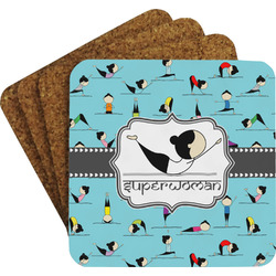Yoga Poses Coaster Set (Personalized)