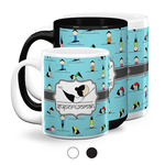 Yoga Poses Coffee Mugs (Personalized)