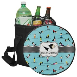 Yoga Poses Collapsible Cooler & Seat (Personalized)