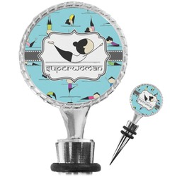 Yoga Poses Wine Bottle Stopper (Personalized)
