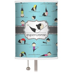 Yoga Poses Drum Lamp Shade (Personalized)