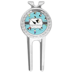 Yoga Poses Golf Divot Tool & Ball Marker (Personalized)