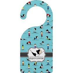 Yoga Poses Door Hanger (Personalized)