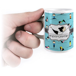 Yoga Poses Espresso Cups (Personalized)