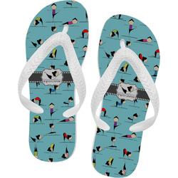 Yoga Poses Flip Flops (Personalized)