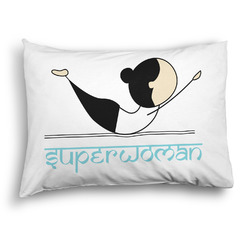 Yoga Poses Pillow Case - Standard - Graphic (Personalized)