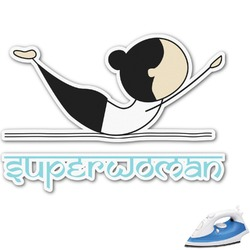 Yoga Poses Graphic Iron On Transfer (Personalized)