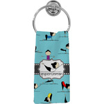 Yoga Poses Hand Towel - Full Print (Personalized)