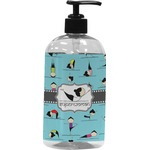 Yoga Poses Plastic Soap / Lotion Dispenser (Personalized)