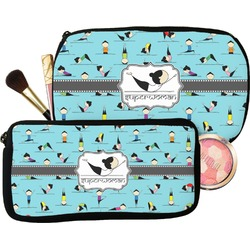 Yoga Poses Makeup / Cosmetic Bag (Personalized)
