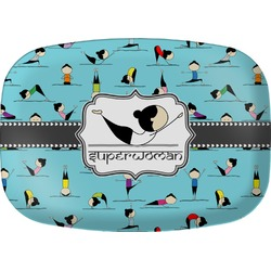 Yoga Poses Melamine Platter (Personalized)