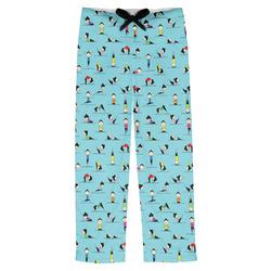 Yoga Poses Mens Pajama Pants (Personalized)