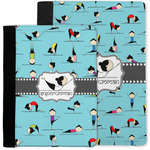 Yoga Poses Notebook Padfolio w/ Name or Text