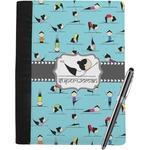 Yoga Poses Notebook Padfolio (Personalized)