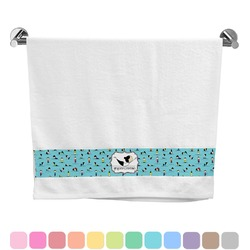 Yoga Poses Bath Towel (Personalized)