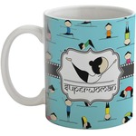 Yoga Poses Coffee Mug (Personalized)