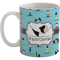 Yoga Poses Coffee Mug (Personalized)
