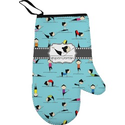 Yoga Poses Oven Mitt (Personalized)
