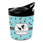 Yoga Poses Plastic Ice Bucket (Personalized)