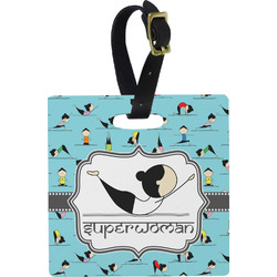 Yoga Poses Luggage Tags (Personalized)