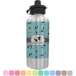 Yoga Poses Water Bottle (Personalized)