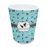 Yoga Poses Plastic Tumbler 6oz (Personalized)