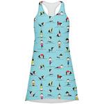 Yoga Poses Racerback Dress (Personalized)