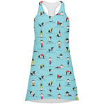 Yoga Poses Racerback Dress (Personalized)