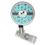 Yoga Poses Retractable Badge Reel (Personalized)