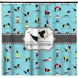 Yoga Poses Shower Curtain (Personalized)