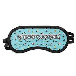 Yoga Poses Sleeping Eye Mask (Personalized)