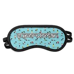 Yoga Poses Sleeping Eye Mask (Personalized)
