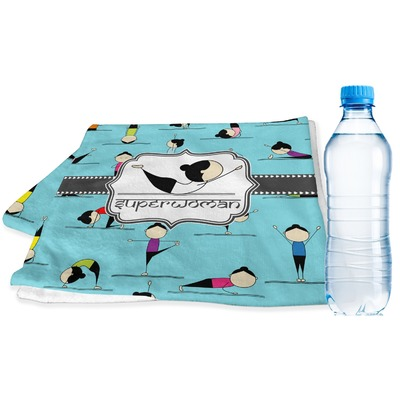 Yoga Poses Sports & Fitness Towel (Personalized)