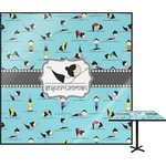 Yoga Poses Square Table Top (Personalized)