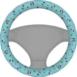 Yoga Poses Steering Wheel Cover (Personalized)