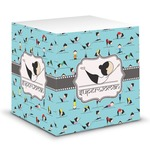 Yoga Poses Sticky Note Cube (Personalized)