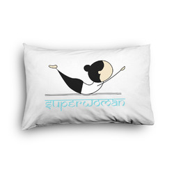 Yoga Poses Pillow Case - Toddler - Graphic (Personalized)