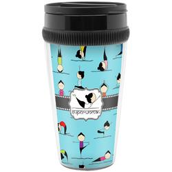 Yoga Poses Travel Mug (Personalized)