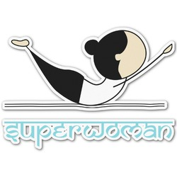 Yoga Poses Graphic Decal - Custom Sizes (Personalized)