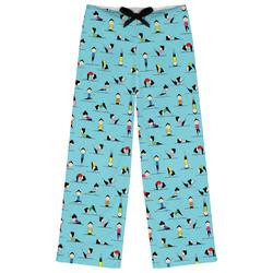 Yoga Poses Womens Pajama Pants (Personalized)