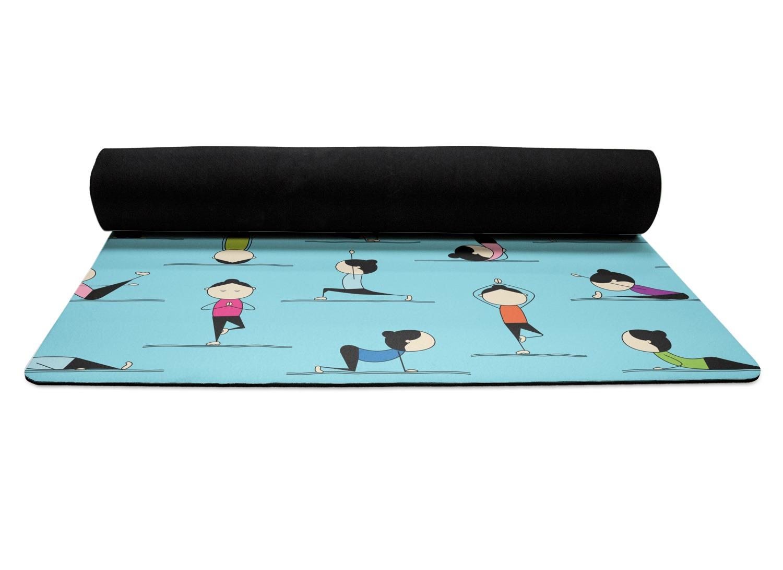 Yoga Poses Yoga Mat Personalized Youcustomizeit