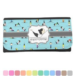 Yoga Poses Ladies Wallet (Personalized)